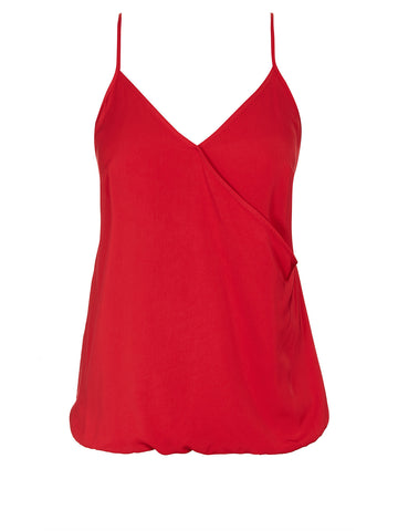 Wrap Magic Cami In Red