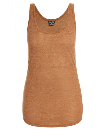 New! - Scoop Hem Tank