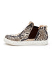 Harlan Sneaker In Natural Snake