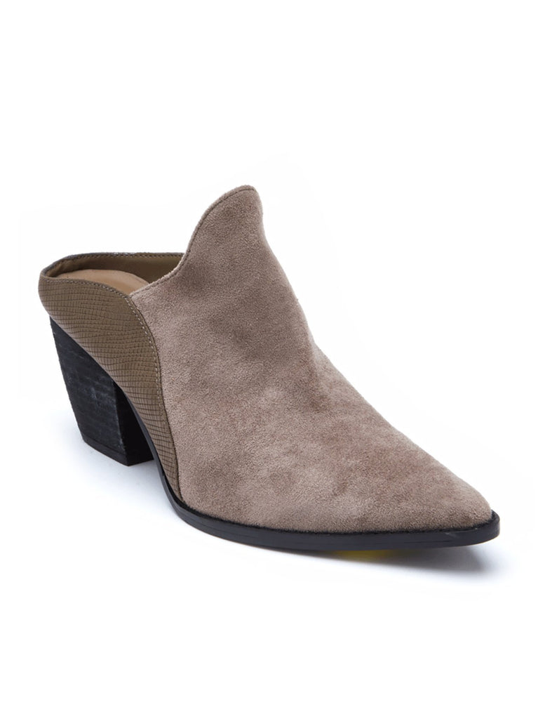 Leave It Mule In Taupe