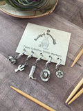 Bashful Armadillo Stitch Markers