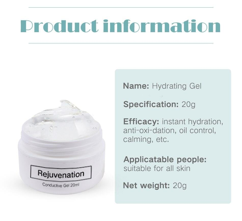 Bold Skincare 20ml Conducting Rejuvenation Gel
