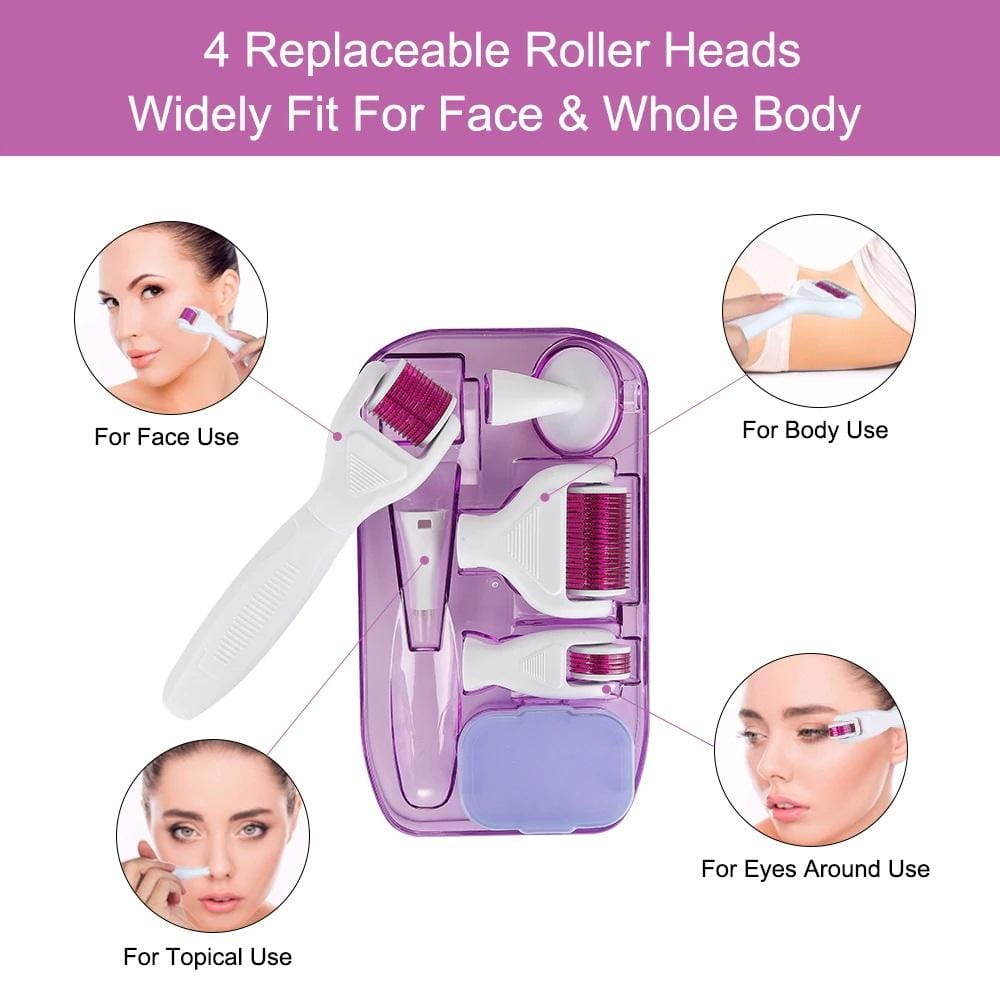 Bold Skincare 6 in 1 Derma-Roller Skin Rejuvenation For Face & Body