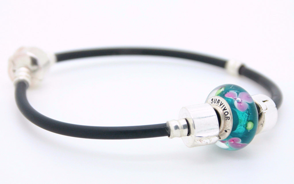 Survivor bead on our sporty bracelet