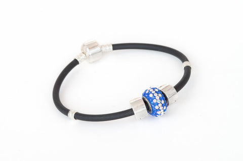 Never Give Up bead on our sporty bracelet