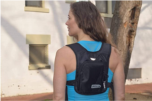 Vrypac Backpack Accessory for Travelers, Runners, Parkour, Athleisure, Skateboarders