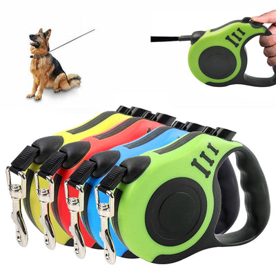 Automatic Retractable Dog Collar