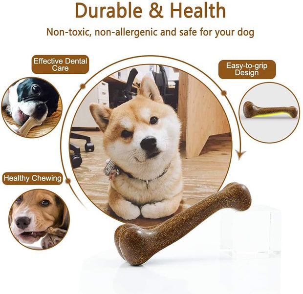 Dog Bone Natural Toy