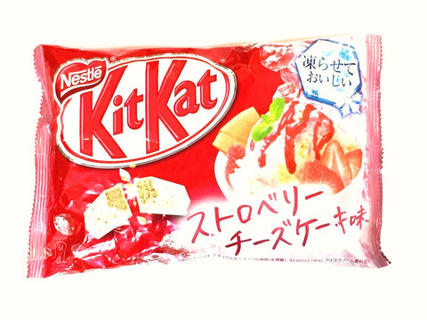 Kit Kat Strawberry Cheesecake