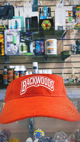 Backwoods Orange Visor