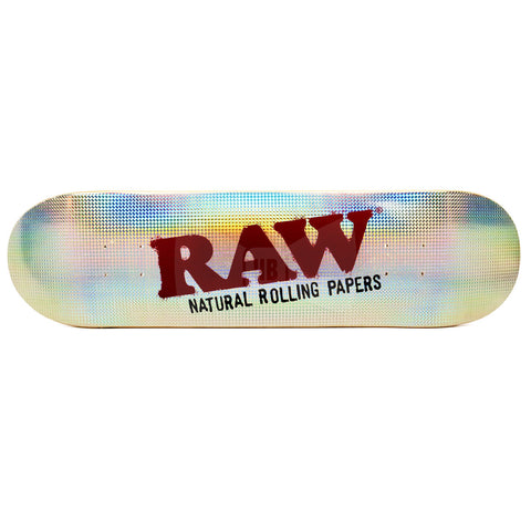 RAW Holographic Skate Deck