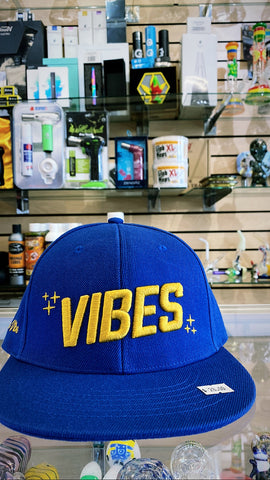 Vibes Blue Hat