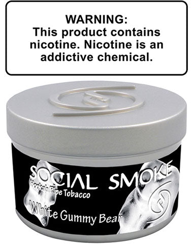 Social Smoke White Gummy Bear