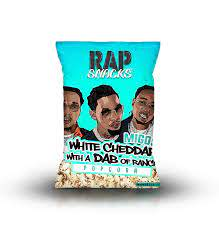 Rap Snacks Migos White Cheddar w/ Dab of Ranch