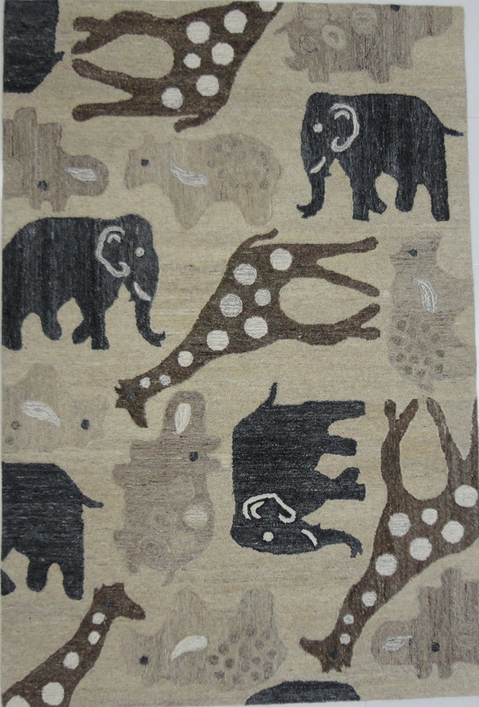 kids designer wool floor rug