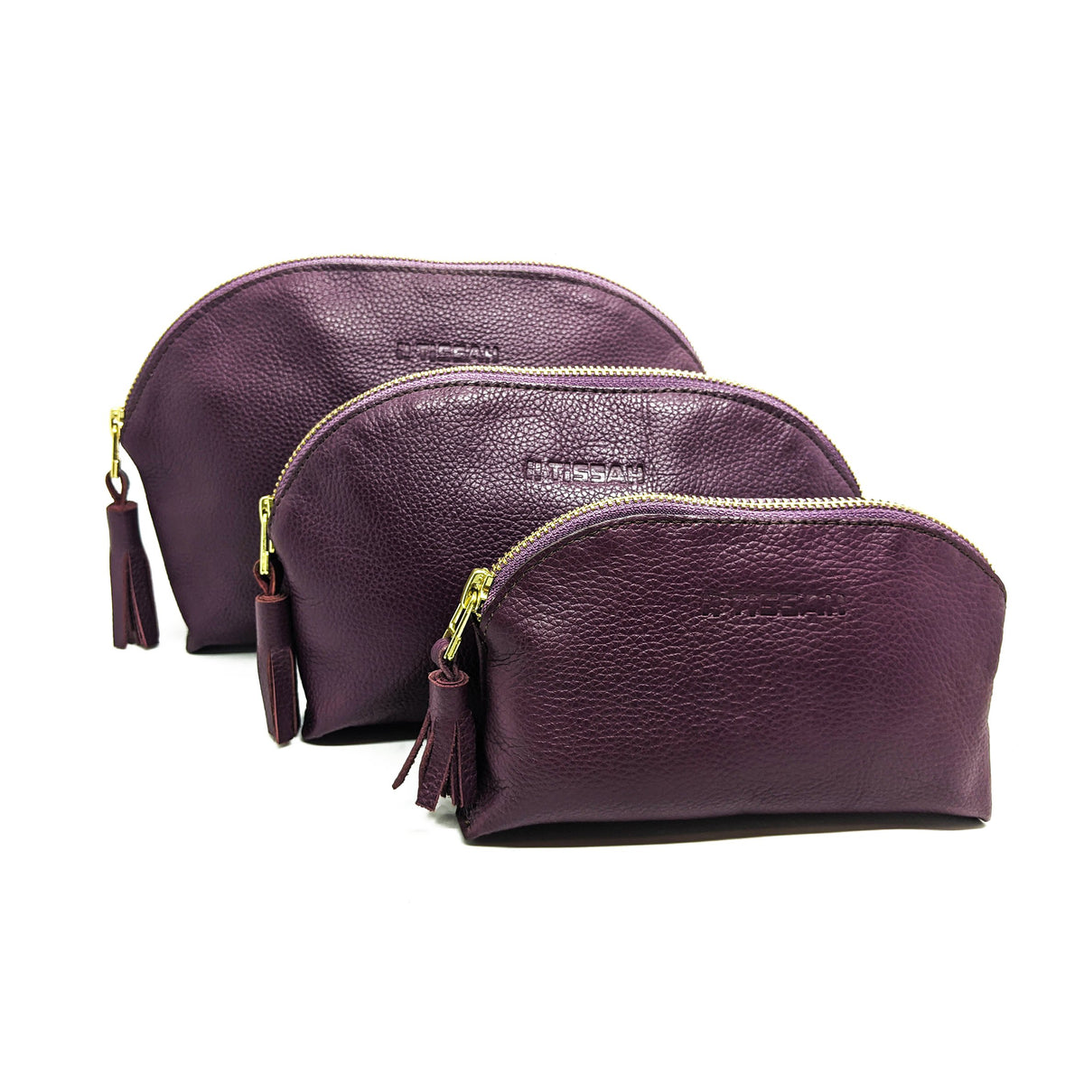 Cosmetic Bag Set - Purple