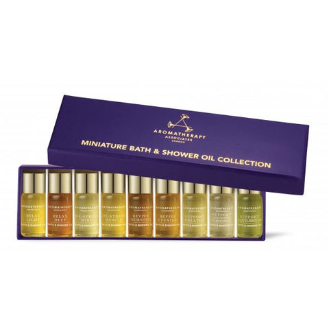 Aromatherapy Associates Miniature Bath & Shower Oil Collection