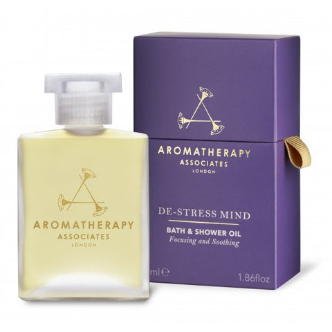 Aromatherapy Associates-De-Stress Mind Bath & Shower Oil 55ml