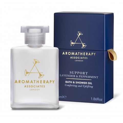 Aromatherapy Associates Support Lavender & Peppermint Bath Oil 55ml