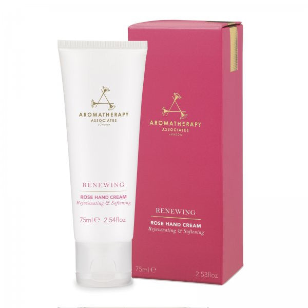 Aromatherapy Associates Renewing Rose Hand Cream 75ml