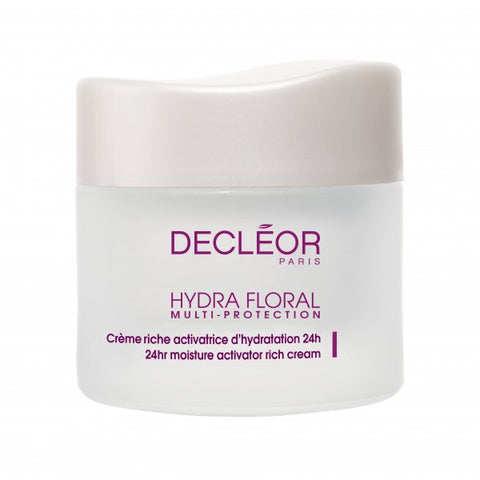 Decleor Hydra Floral - Multi-Protection Moisturising Cream Rich 50ml
