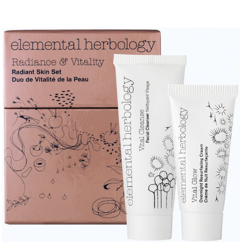 Elemental Herbology Radiance and Vitality Radiant Skin Set