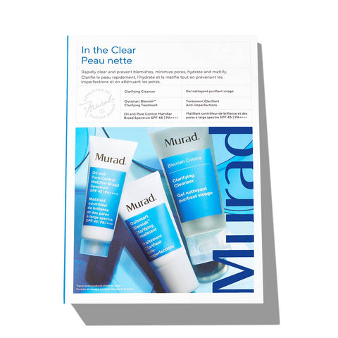 Murad 'In the Clear' Travel Size Skincare Gift Set