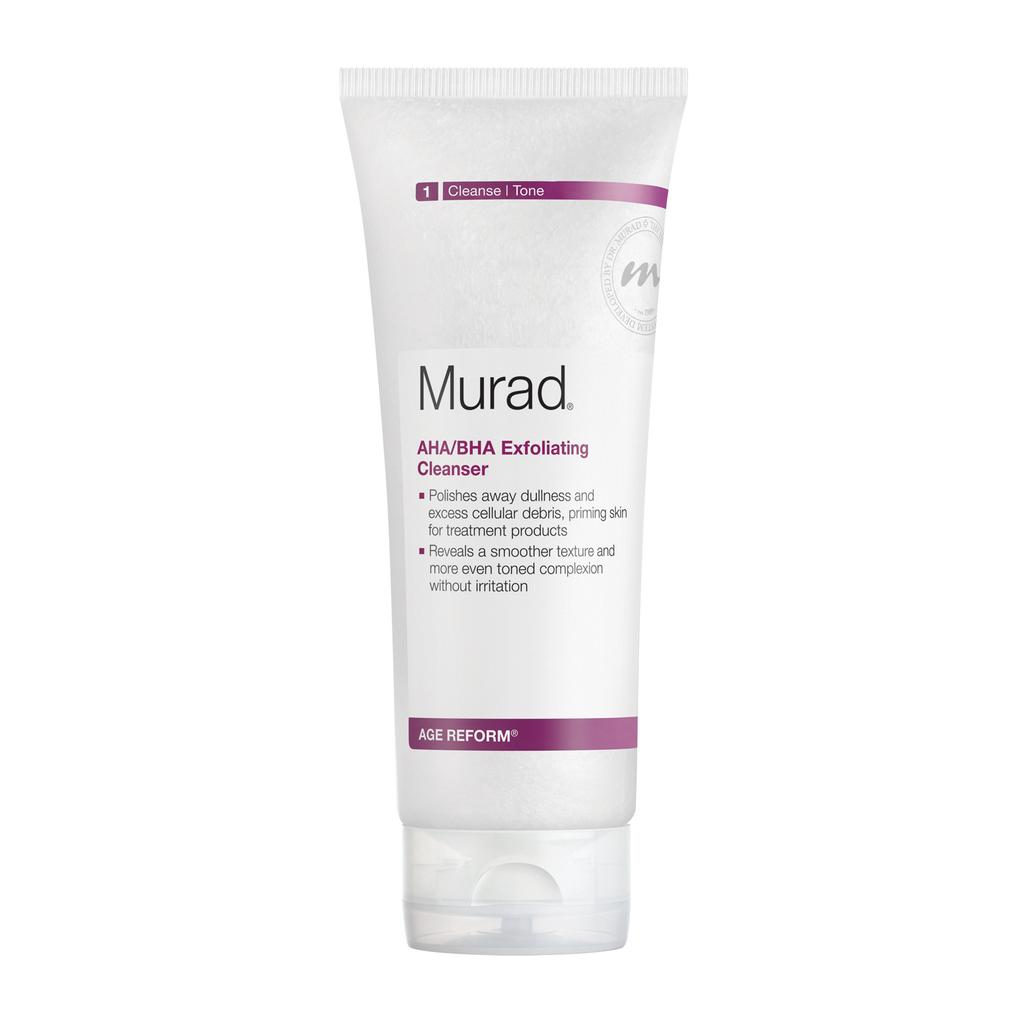 Murad Age Reform Exfoliating Cleanser AHA/BHA 200ml