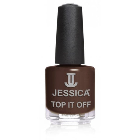 Jessica Top It Off Brown Croc 14.8ml