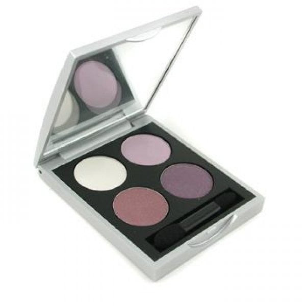Youngblood Pressed Mineral Eyeshadow Quads - Purple Majesty