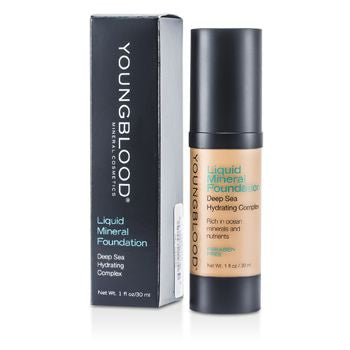 Youngblood Liquid Mineral Foundation - Shell