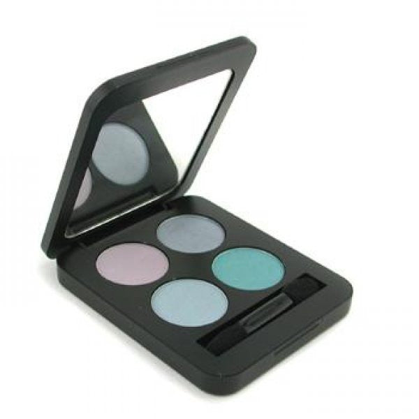 Youngblood Pressed Mineral Eyeshadow Quads - Mermaid