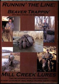 DVD Mill Creek-RUNNIN' THE LINE: Beaver Trapping