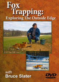 DVD, Slater Fox Trapping, Exploring the Outside Edge