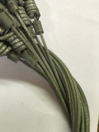 CLOSEOUT  Dakotaline 350# Cable Restraint Moss Green 1 dozen