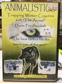 DVD-Animalistics-Freeborough-Trapping Winter Coyotes