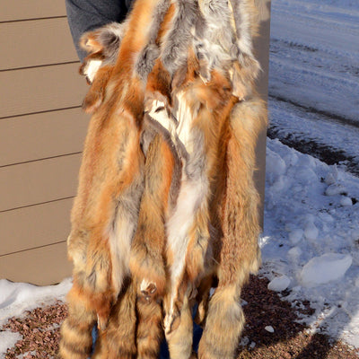 Tanned Red Fox Hide TNRF-LG/MG