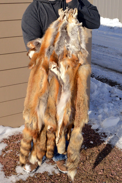 Tanned Red Fox Hide TNRF-LG