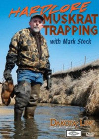 Steck-Hardcore Muskrat Trapping DVD