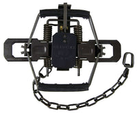 #2 Bridger 4-Coil Spring Rubber Jaw Trap
