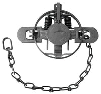 #1-1/2 Duke 2-Coil Spring Double Jaw Trap