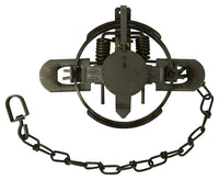 #1-1/2 Duke 2-Coil Spring Laminated Trap