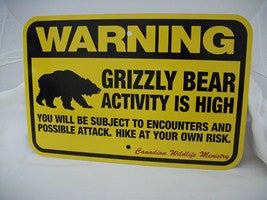 Wildlife Regulatory Signs