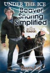 DVD-Under The Ice Beaver Snaring Simplified with Royce Teague