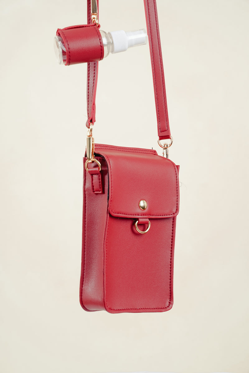 PEYTON CROSSBODY (RED)