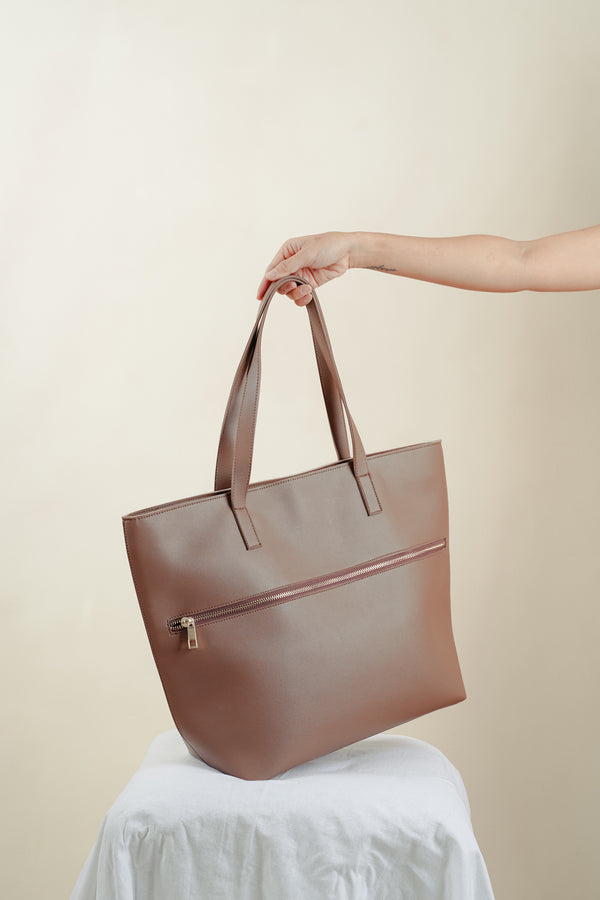 MAINE TOTE (TAUPE)