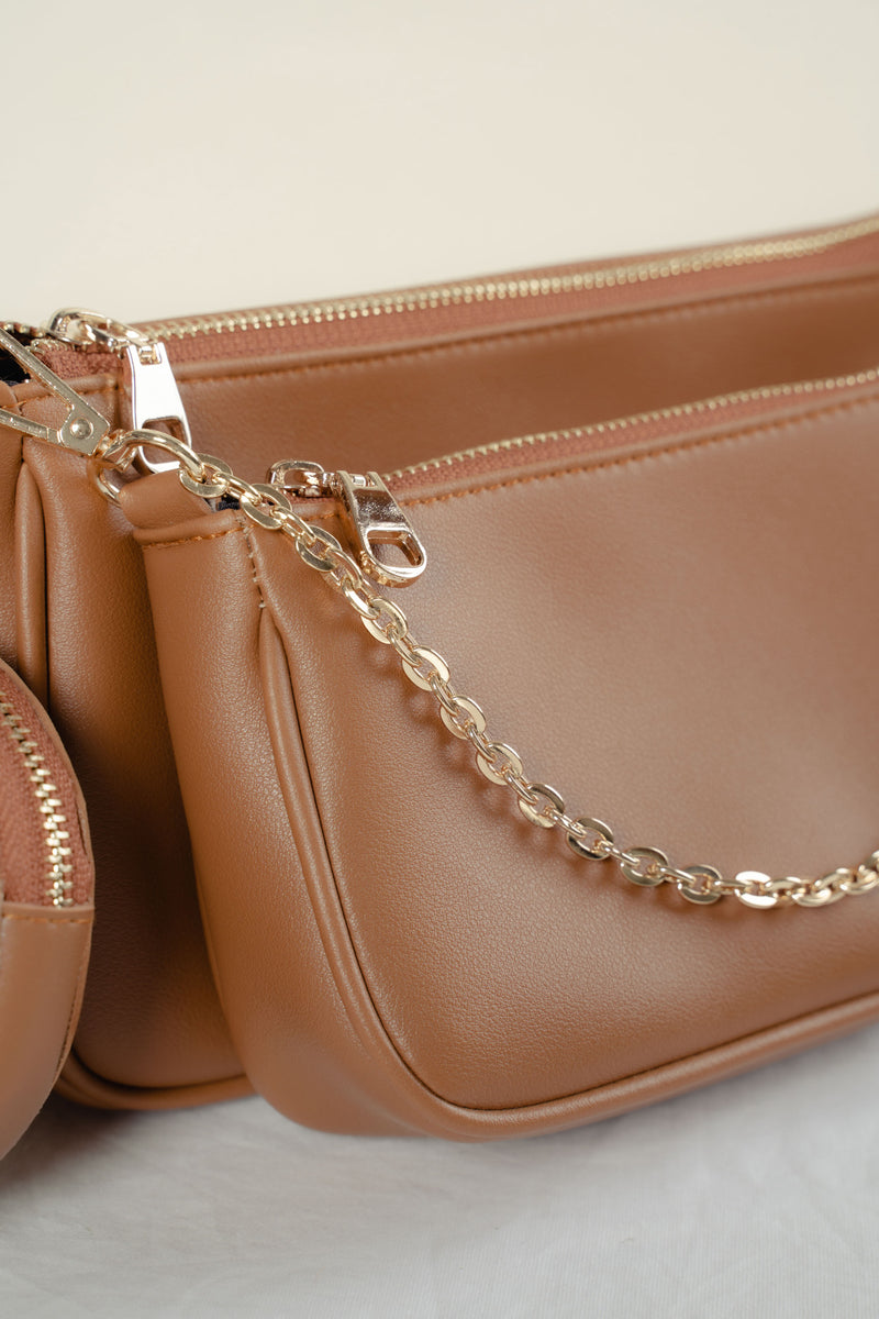 Zoe Crossbody (TAN)