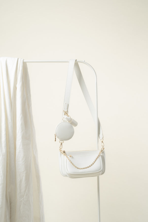 Zoe Crossbody (WHITE)