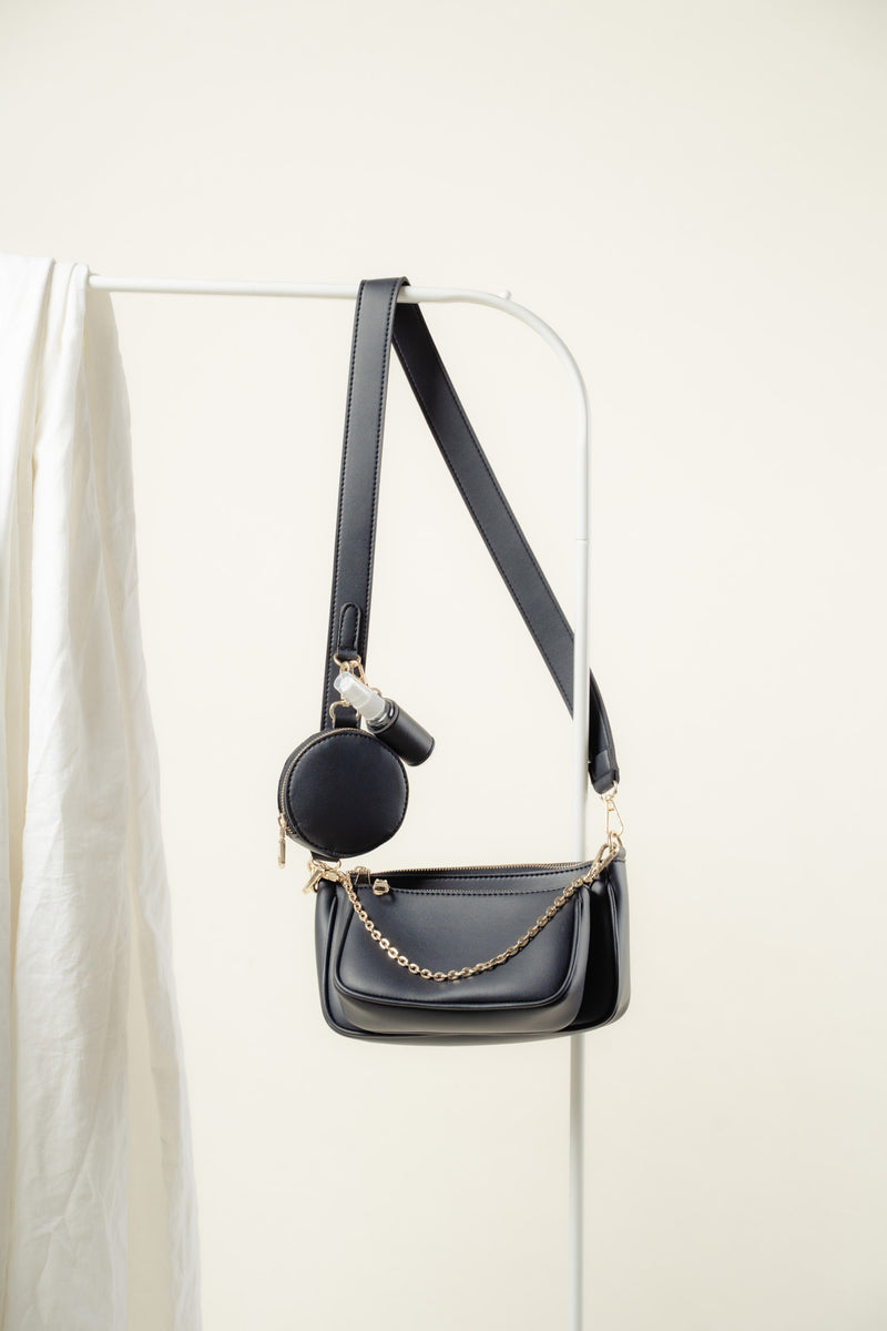 Zoe Crossbody (BLACK)