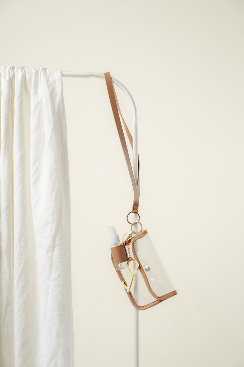 Elysse Essentials Lanyard (TAN)